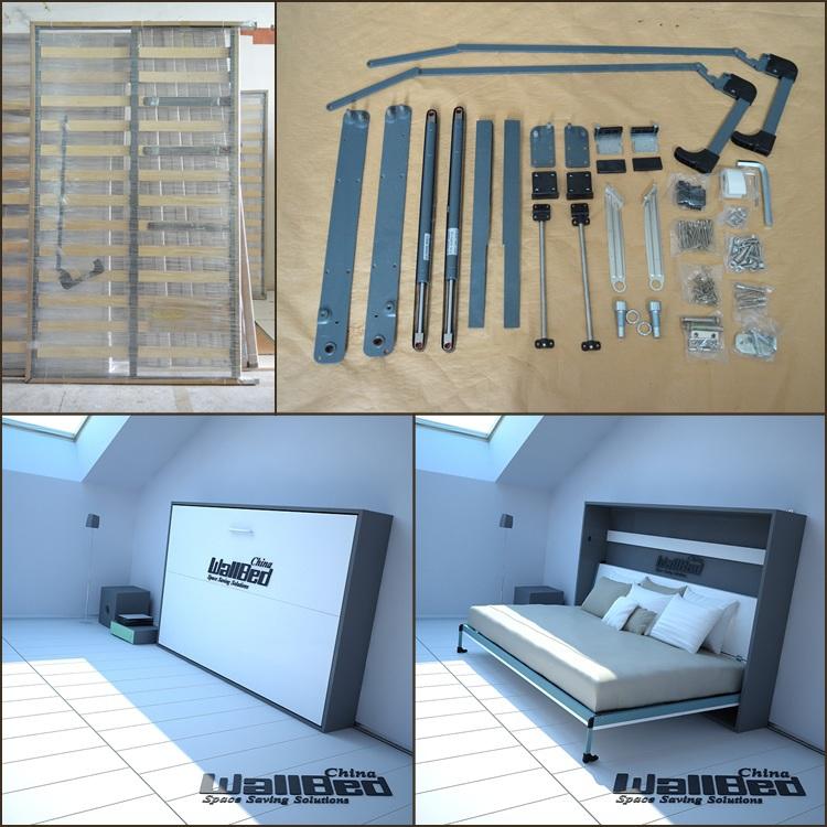 Queen size wall bed mechanism diy murphy bed mechanism for Sideboard zeichnung
