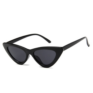 Cat eye thick triangle modern hyperbole sunglasses for women and men