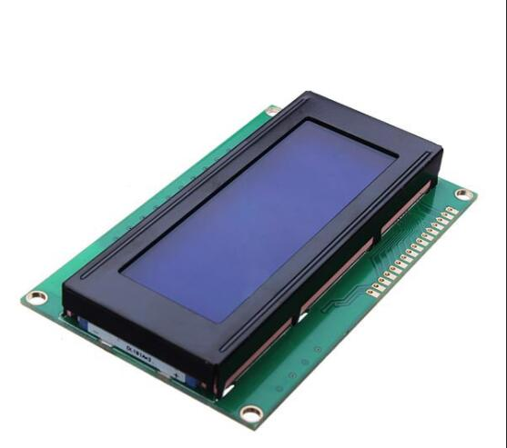 custom RGB backlight 20x2 2002 COG LCD screen with metal pins for crane weigher UNLB90553