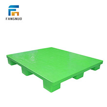 Manufacturer single faced stackable double plastic pallet