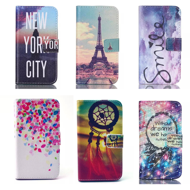 best website 6692a d5dcf Factory Price Magnetic Side Flip PU Leather Wallet Case Cover For ...