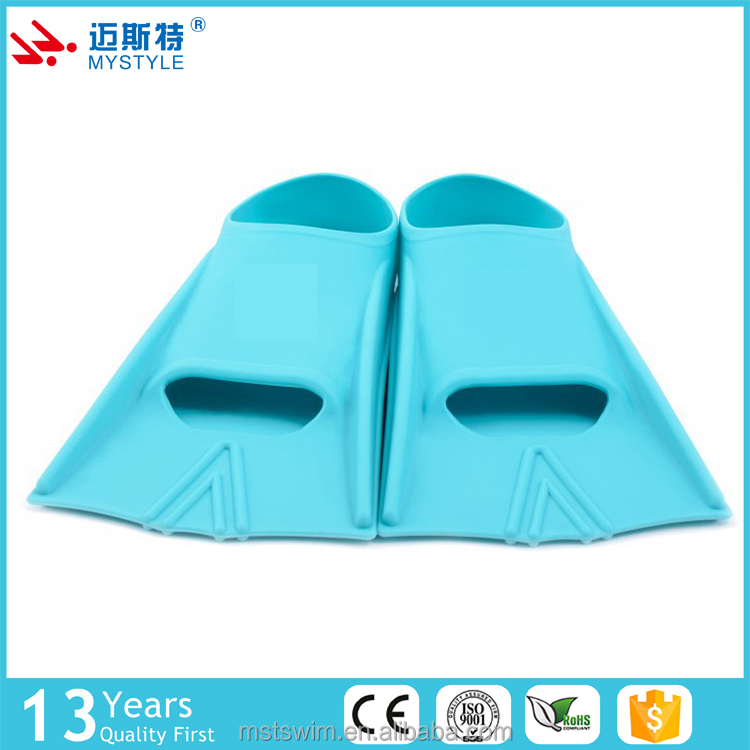 Cost price wholesale safety silicone swim tube fins