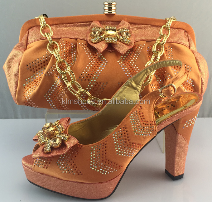Shoes Rhinestones ladies Shoes Set African Fashion Bag Styles And And Italian Summer In Pink With Matching Free Shipping Bag BSxwzqIxt
