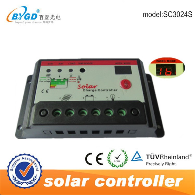 pwm solar <strong>charge</strong> <strong>controller</strong> 12v 24v auto 40amp from BYGD sought agent