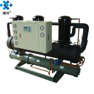 hydraulic oil cooler water indirect cooling chiller