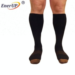 High quality Running Sports Knee High Stockings Relief Compression Socks Mens Athletic Socks
