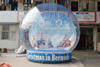 2016 Top quality chrismas inflatable globe snow for sales