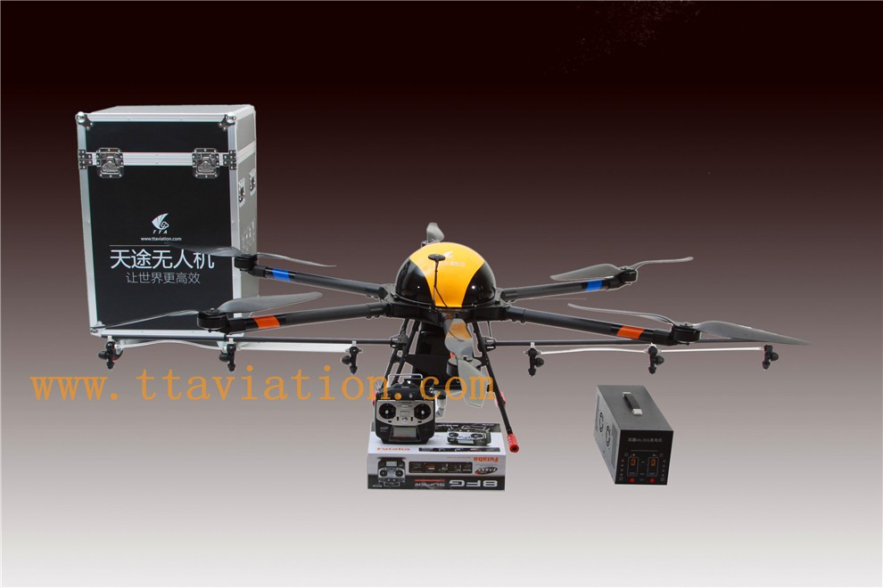 China 15L Capacity 6 Rotor Agriculture Drone for Crop