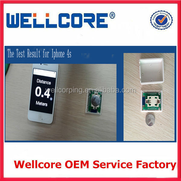 Hot Selling TI CC2541 Chip bluetooth 4.0 ibeacon module UUID Programmable Ibeacon with CR2540 Battery and Case For Android 4.3