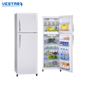 215L best quality used double door refrigerator