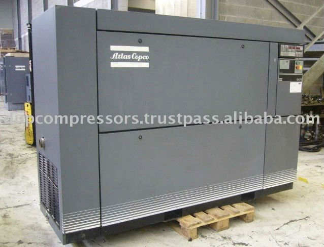 Used Small Air Compressor Atlas Copco GA 75