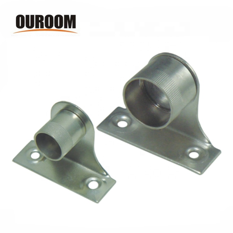 Br Cranked Curtain Rod Wall