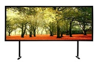 Permanent Large Fixed Frame Projector Screen ,Flat Frame Screen on Project