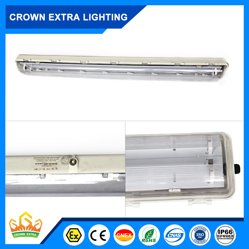 BYS Brand new bpy-51 series explosion proof saving high efficiency fluorescent light for wholesales