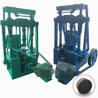 Wide application mill scale briquette making machine