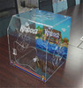 China manufacturer handmade acrylic reptile display cases for sale