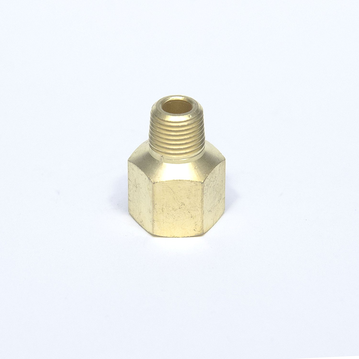 HPC Brass Pipe Adaptor Fitting Hearth Products Controls 443 1//2-Inch FIP to 1//2-Inch MIP
