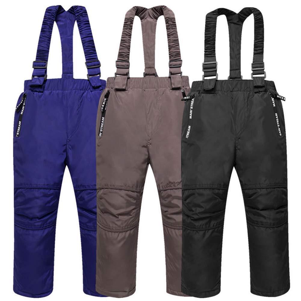 e4a7837f3b Get Quotations · Happy childhood Unisex Baby Down Cotton Ski Bib Pants Kid  Winter Warm Snow Trousers Toddler Lightweight