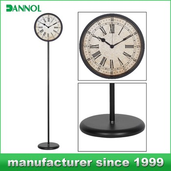Antique Floor Standing Clock/ Wrought Iron Floor Clocks/ China Online  Shopping