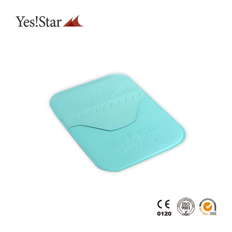 Yes!Star hot low radiation Periapical Film dental x ray agfa x-ray film
