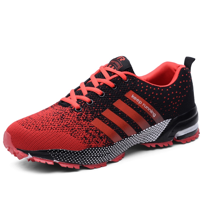 lace Supply Factory mens running Breathable shoes up knitted ESCqCw