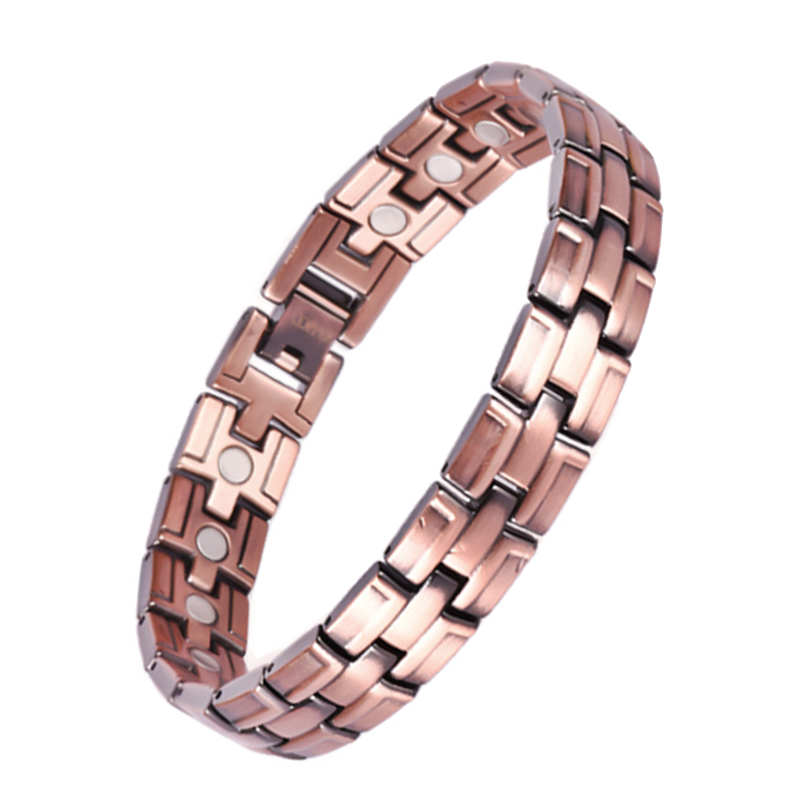 High Quality Stock Jewelry Germanium Magnetic Arthritis Copper Bracelet