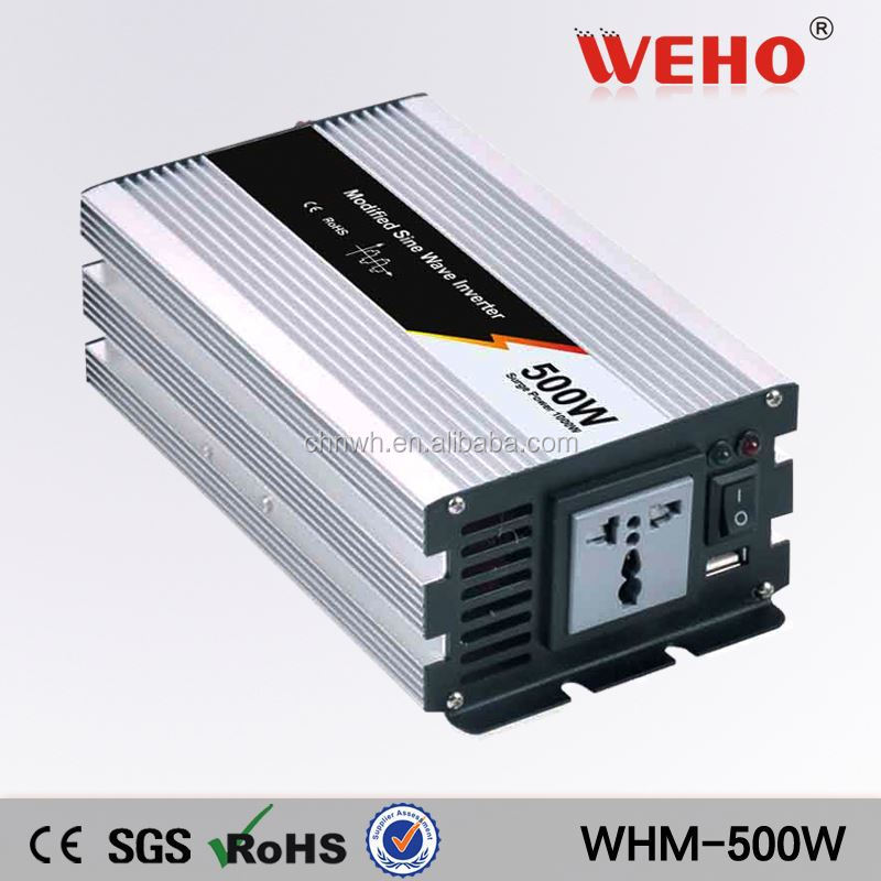 DC AC Pure Sine wave inverter 500w 12v car inverter