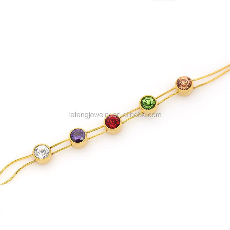 Light Weight Zipper Charm Latest Gold Bangle Design - Buy Latest ...