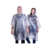 Eco-friendly cheap price reusable rubber rain poncho for sale