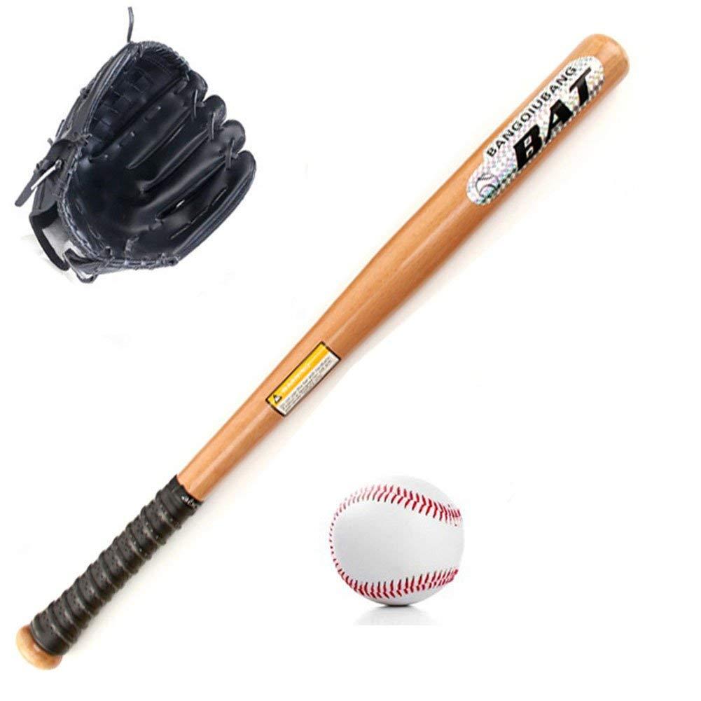 "HnjPama Kids' Teens' Boys Girls Baseball Starters Set, 25"" Locust Baseball Bat+10.5"" Baseball Glove+ Standard No.9 Baseball,Right Hand Throw"
