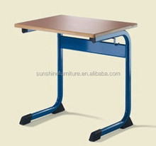 china standard study size of cheap school desk parts prices
