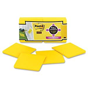 MMMF33012SSY - Post-it Full Adhesive Notes