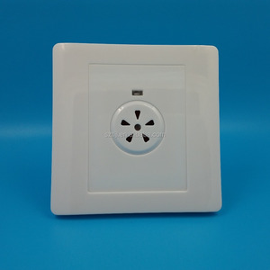 86mm white Sound and light-controlled energy-saving switch