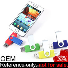 High speed cheap micro android mobile phone 32gb plastic otg usb flash drive