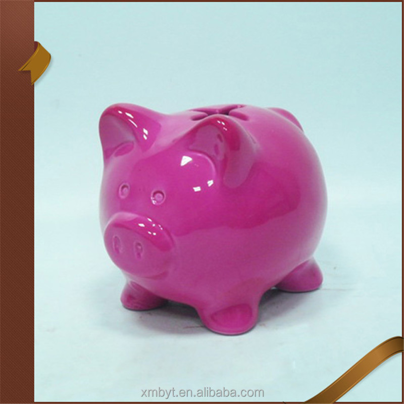 New design antique ceramic pig piggy banks
