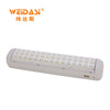latest design rechargeable LED emergency light rechargeable with 1 years warranty
