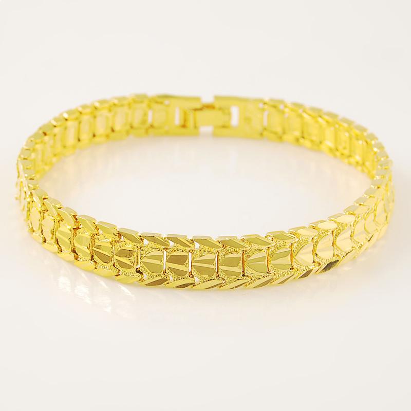 77359da3b JH095 High Quality 24K Gold Plated Charm Bracelets New Model Fashion Jewelry  Ladies Hot Popular Gift Shenzhen Jewelry