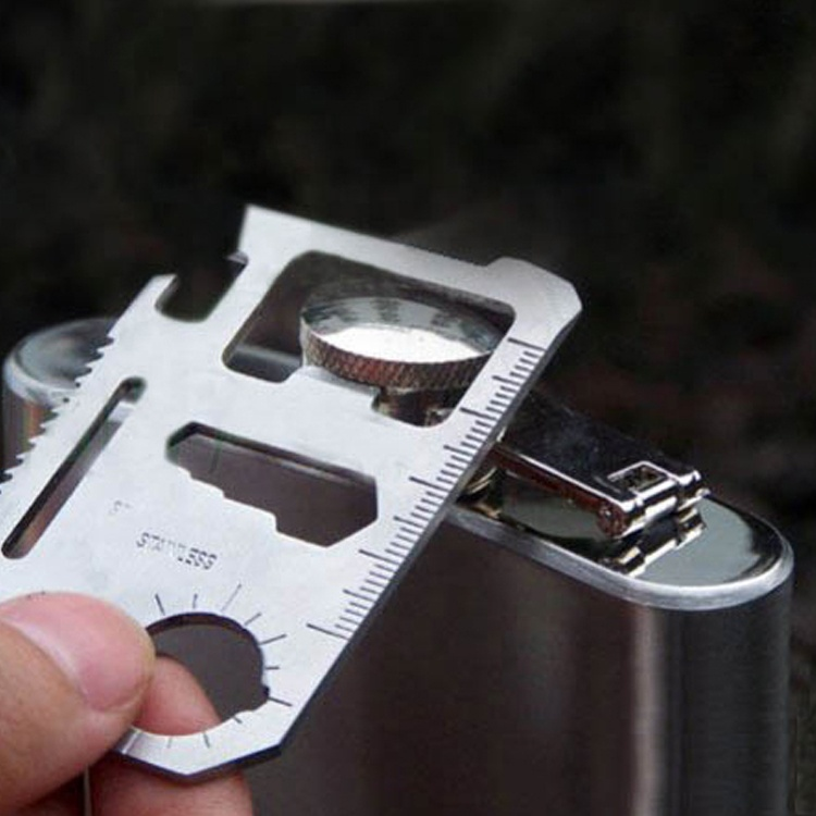 11 년 1 Multi-tool Outdoor Hunting 캠핑 Pocket 군 Card 생존 칼