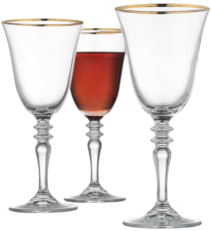 Gold Rimmed Wedding Bulk Crystal Goblet Red Wine Glass Buy Wine
