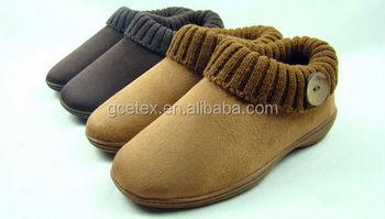 9cfce5e41 GCE394 из искусственной замши с флисовой резиновая подошва лет женские  мокасины обувь для пожилых людей