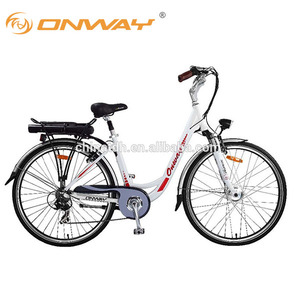 ONWAY 700C Lithium Battery cheap 6 Spd city e-bike for custom