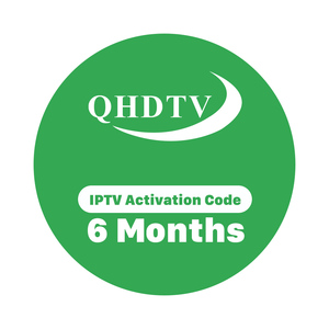 QHDTV IPTV Account 6 Months German France and UK Live Channels Subscription for Android TV Boxes