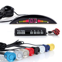 4 buzzer car alarm infrared sensor vehicle detection ultrasonic sensor premium parking sensor aid system