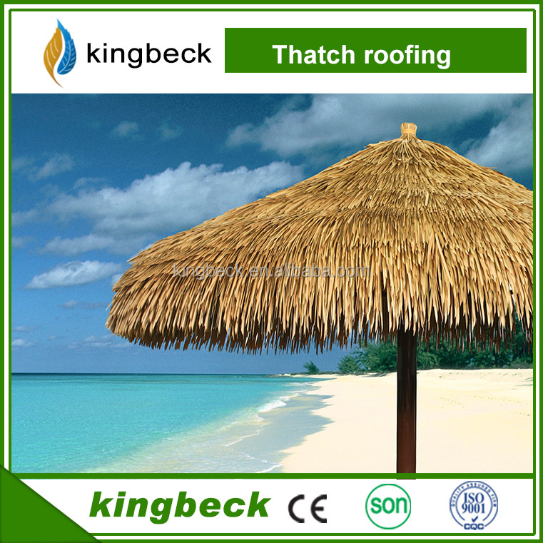 Bamboo umbrella beach-Thatch umbrella cover thatchreed seagrass palm leaf straw coconuts