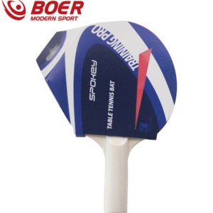 Double faced inverted rubber table tennis racket