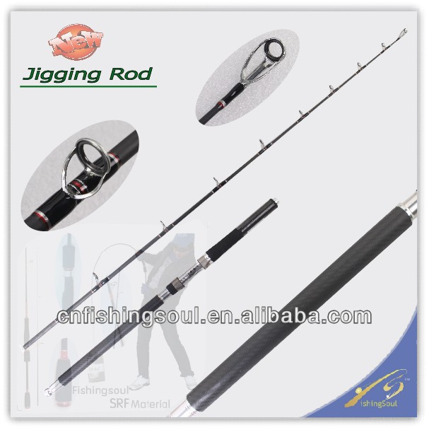 JGR027 carbon fishing rod blanks wholesale fishing rod price carbon shore Jigging rod