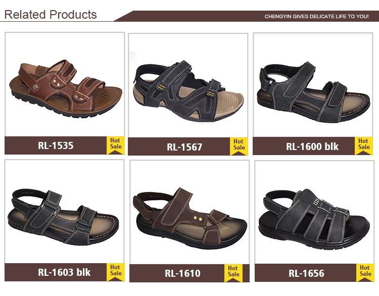 0e138e7c9 china wholesale alibaba slipper Factory Direct Sale leather upper Pu Fabric  Insole India Men comfort Sandals. SANDAL SIZE CHART