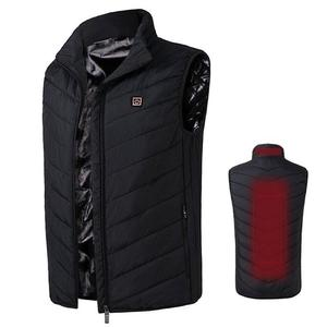 Winter Outdoor Sport Rechargeable Battery Heating Mens Vest