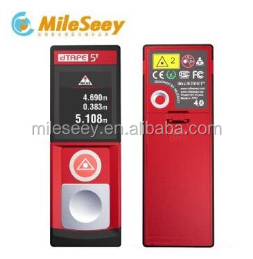 China manufacture Mileseey D5 20m laser meter distance precision laser distance measurement