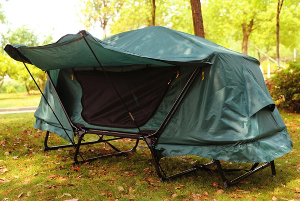 2 Person Camping Canvas Tent Bed Waterproof - Buy Canvas ...